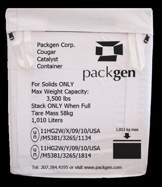 catalyst container