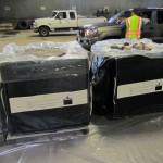 hazardous waste storage container